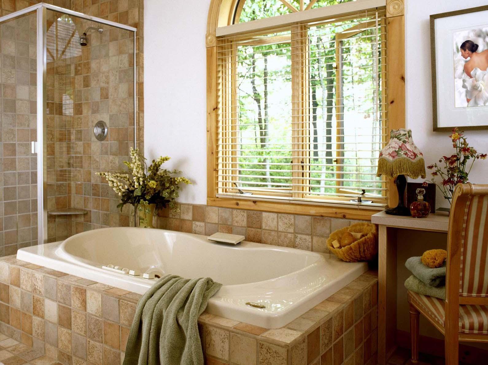 Ванная комната на даче своими руками фото